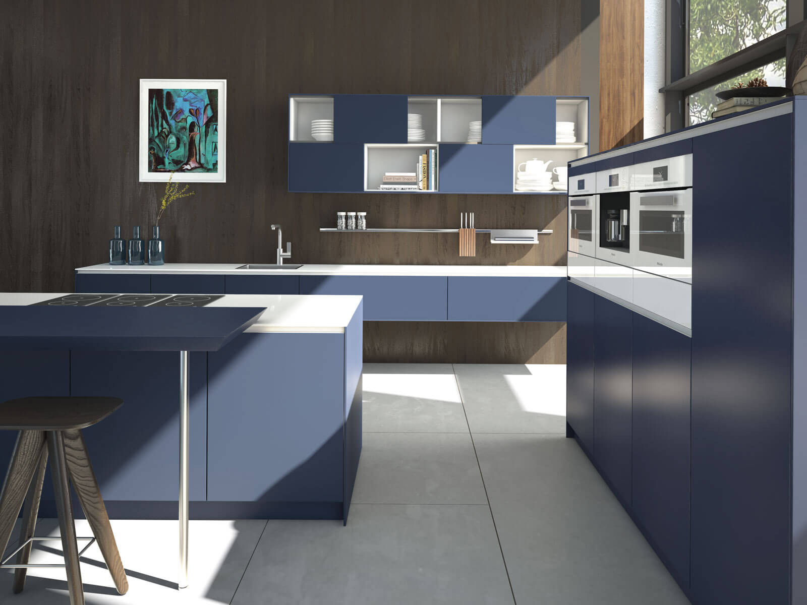 Contemporary-Kitchens-North-West