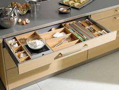 Designer Kitchen Drawers